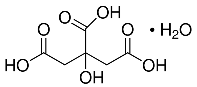 Citric Acid Monohydrate AR/ACS Meets Analytical Specification of IP, BP, USP, Ph. Eur., FCC.