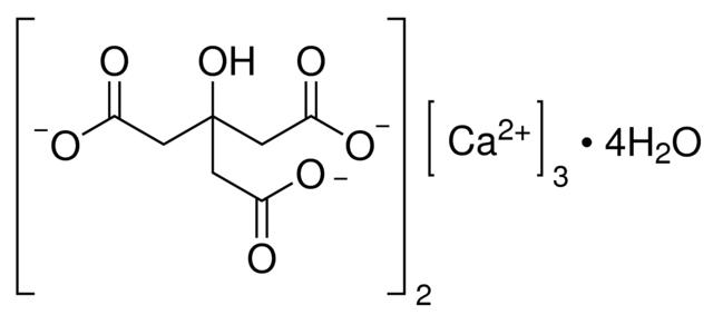Calcium Citrate Tetrahydrate Pure