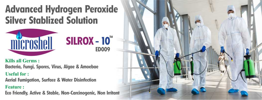 SILROX 10 - ADVANCED DISINFECTION SOLUTION NEW